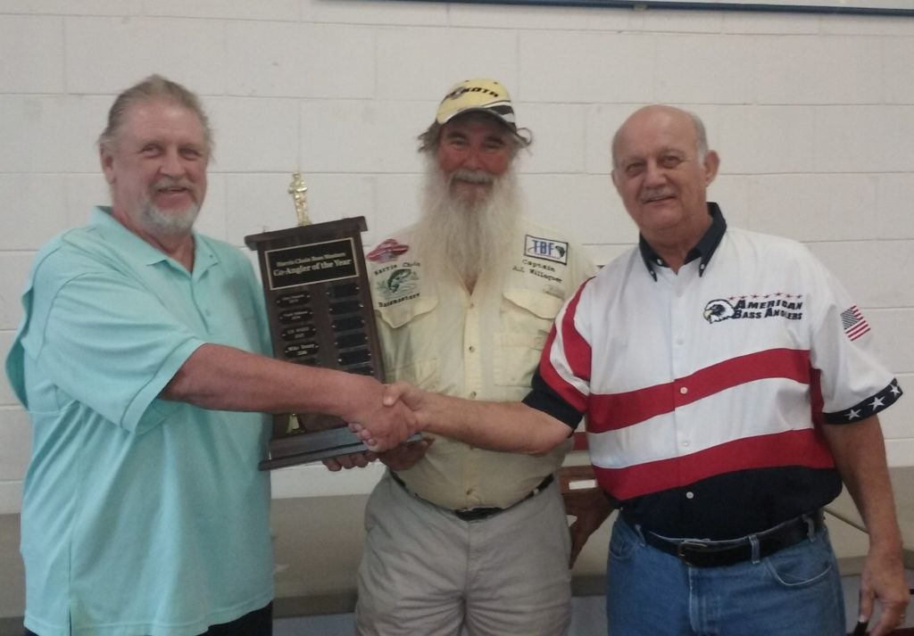 Co-Angler of the Year Winner 2016 Mike Denny (right)