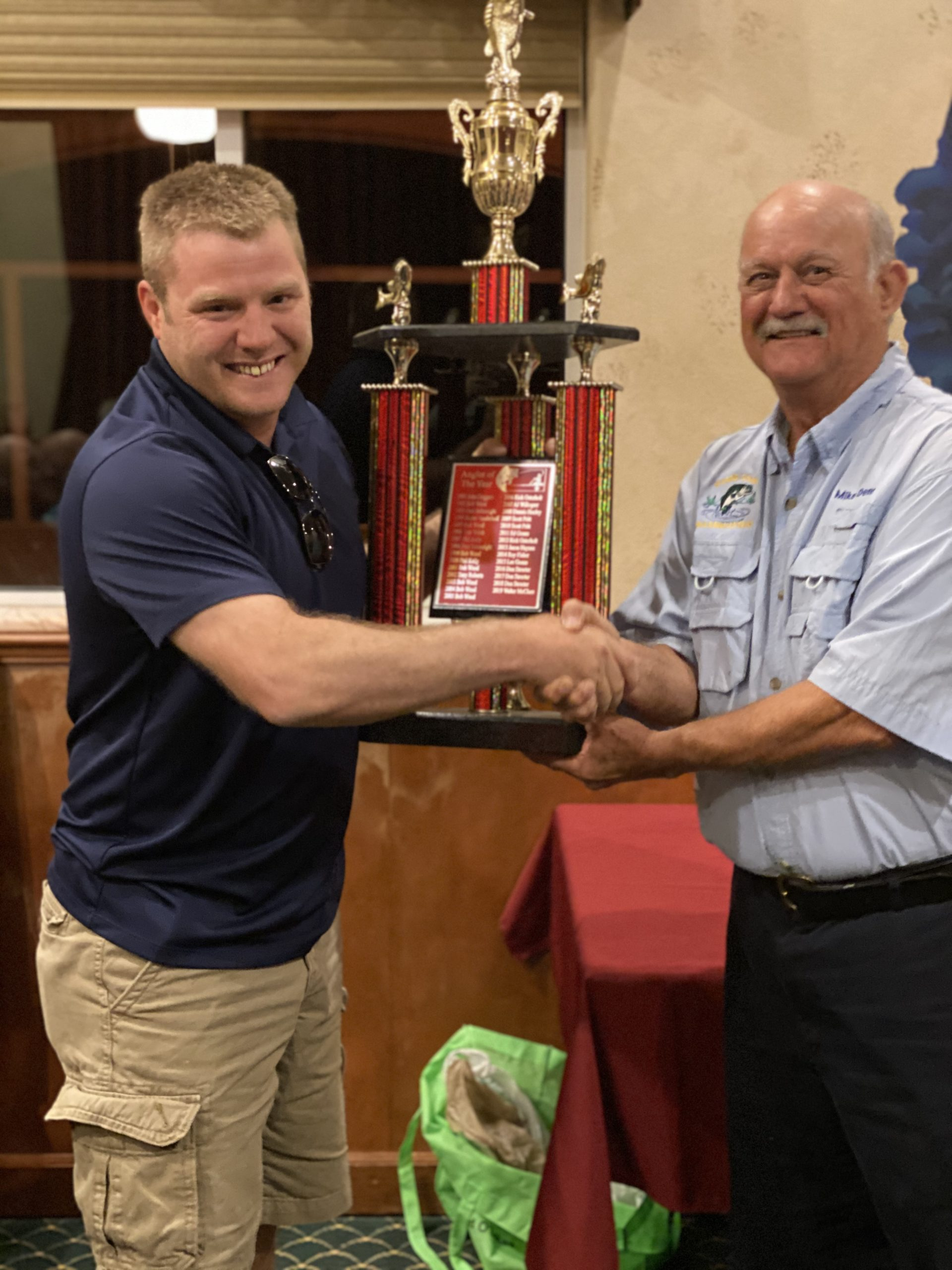 Walter McClure - 2019 Angler of the Year