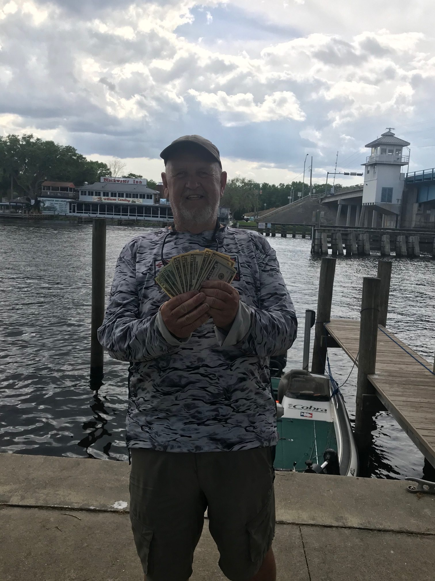 Don Streeter - 1st Place Angler - St. Johns River - Mar 2020