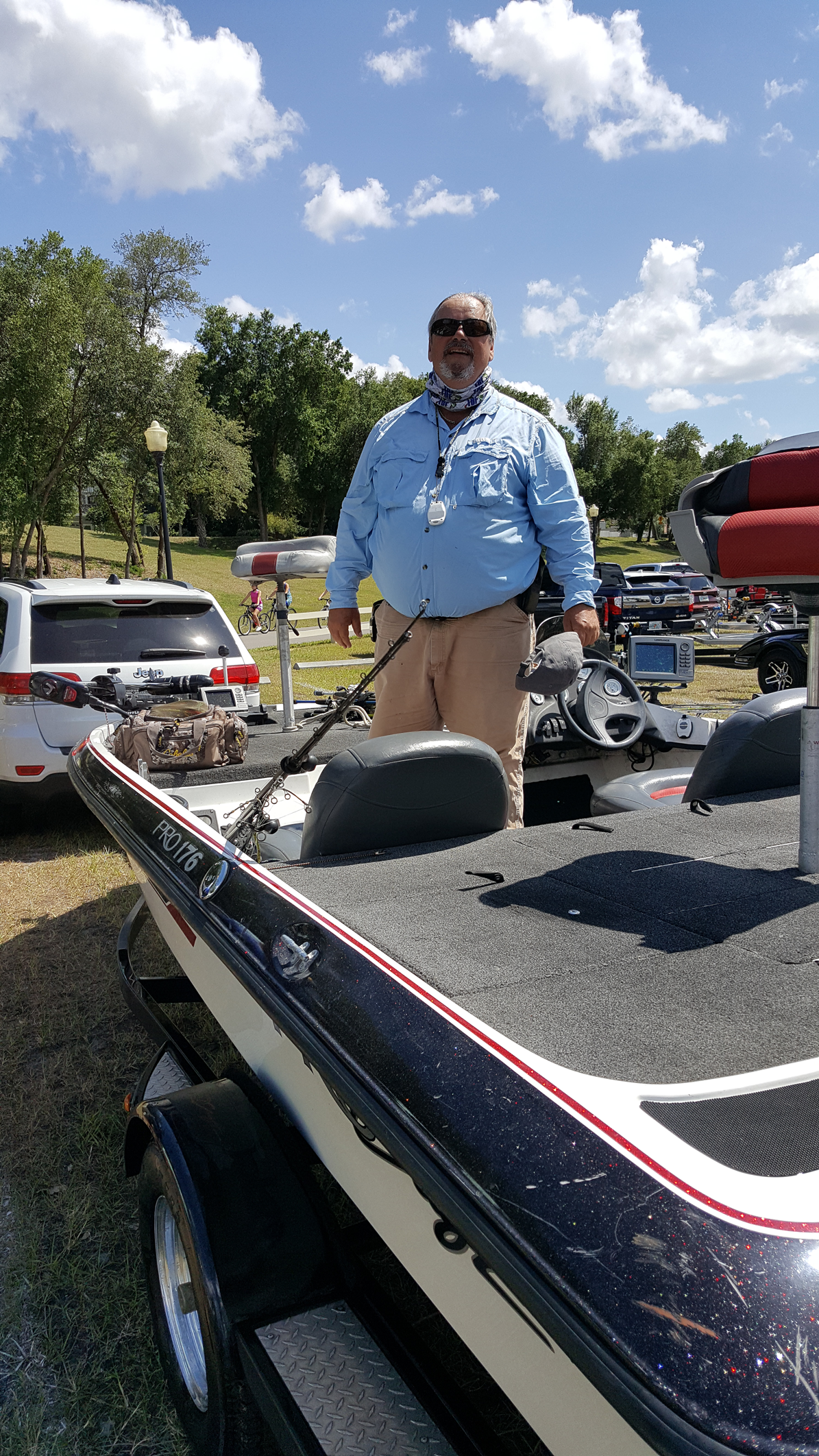 Ed Goans - 1st Place Angler - Clermont Chain - May 2020