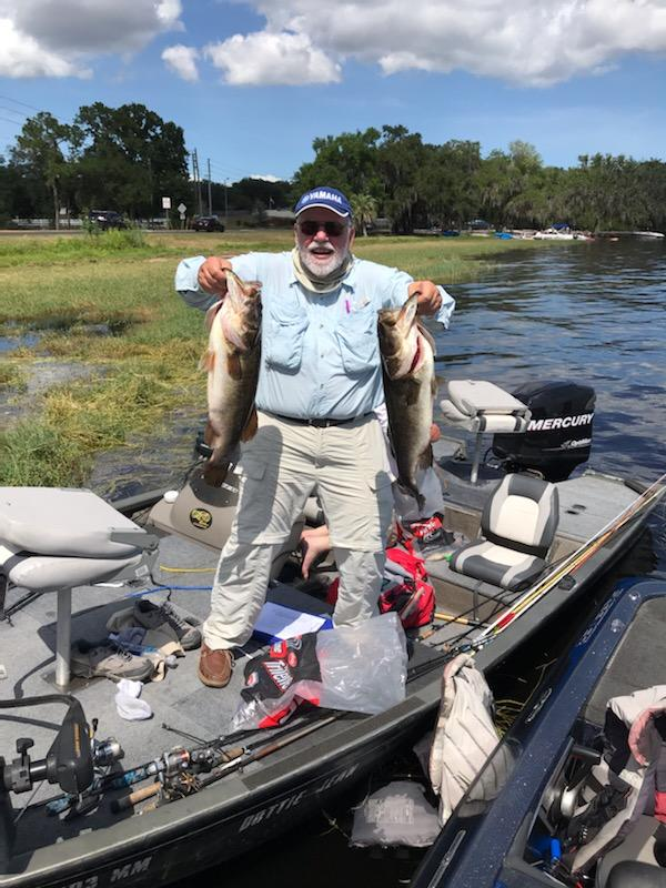 Bob Renner - 1st Place Co-Angler / Big Fish Winner - Clermont Chain - May 2020