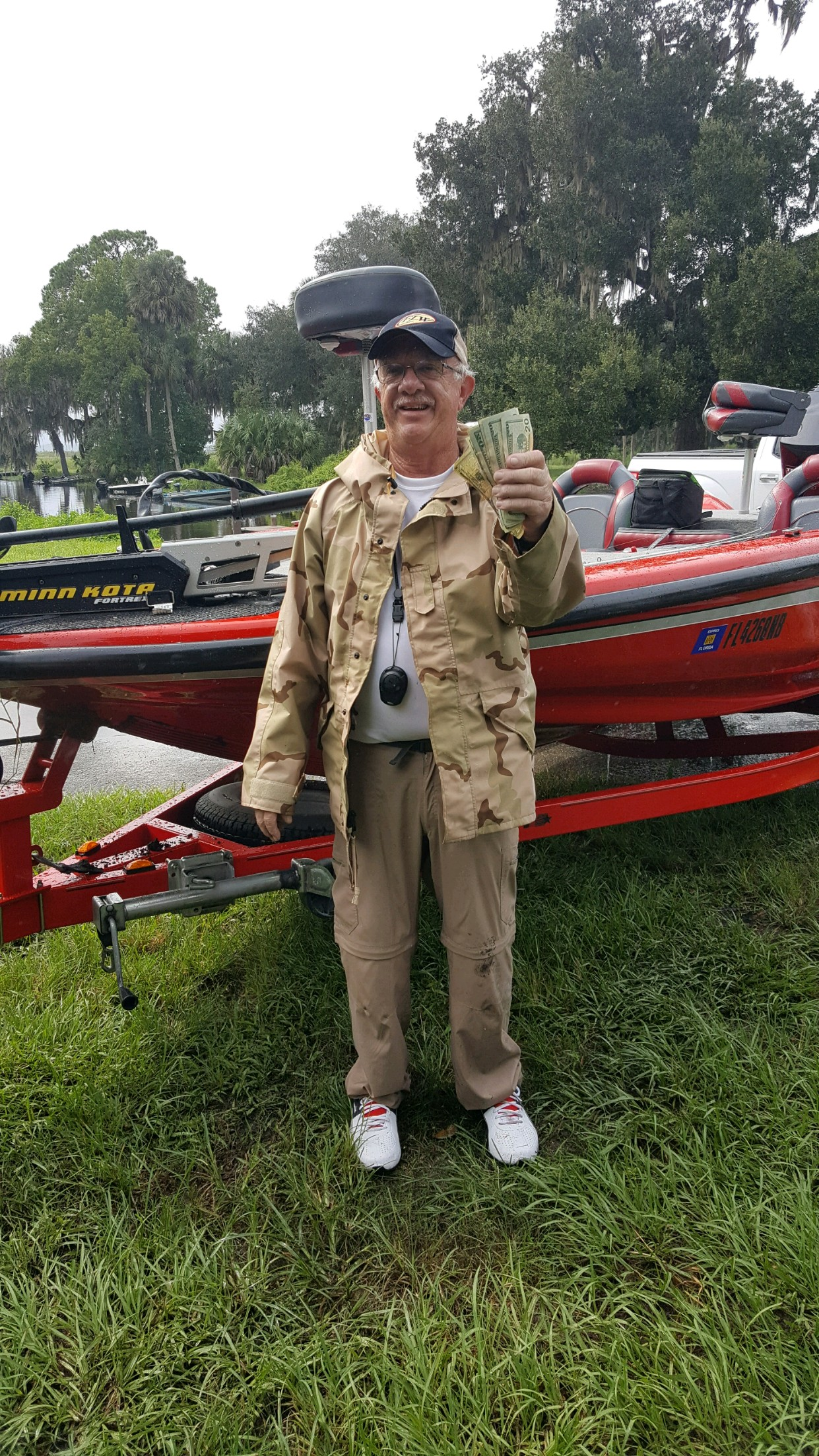Tom Bates - 1st Place Angler - Orange Lake - September 2020