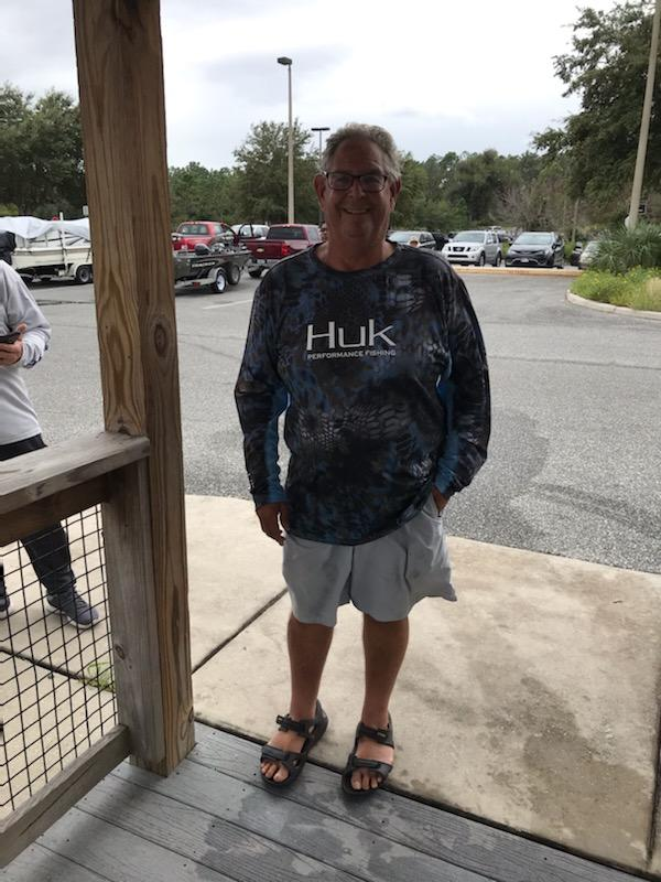 Richard Baker - 2nd Place Co-Angler - Lake Weir - October 2020
