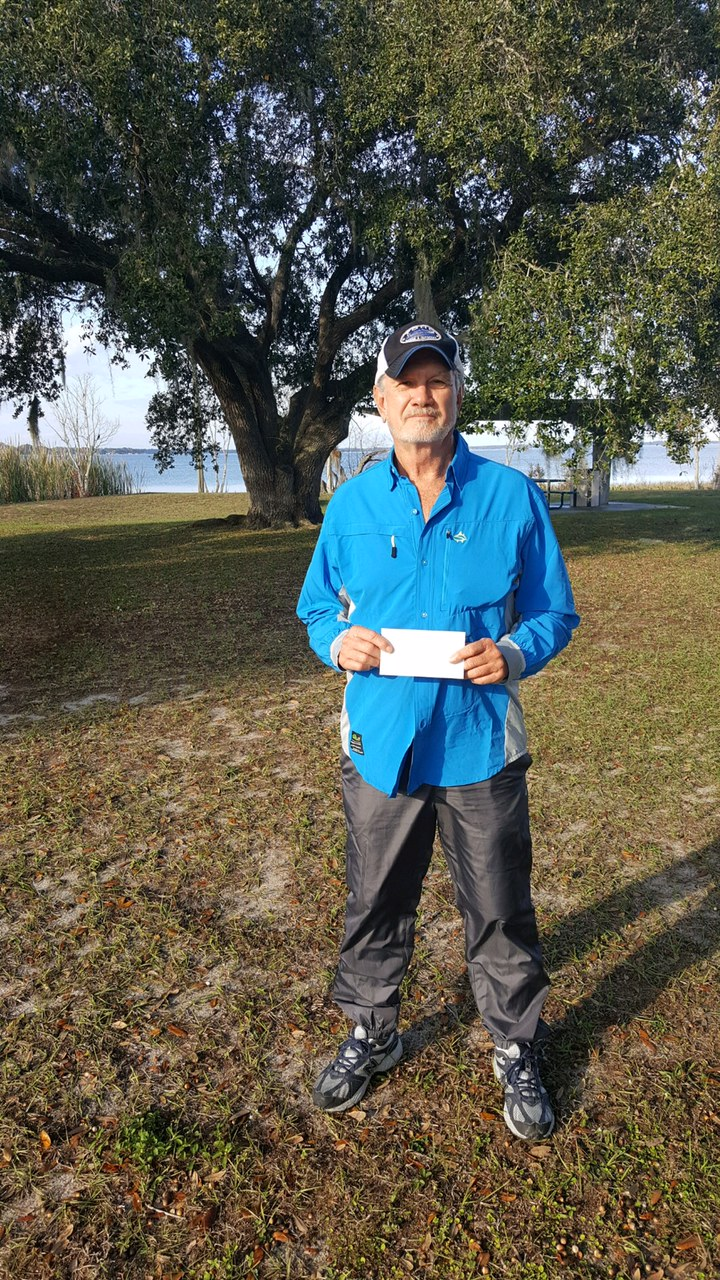 Don Carroll - 1st Place Angler - 2020 Classic