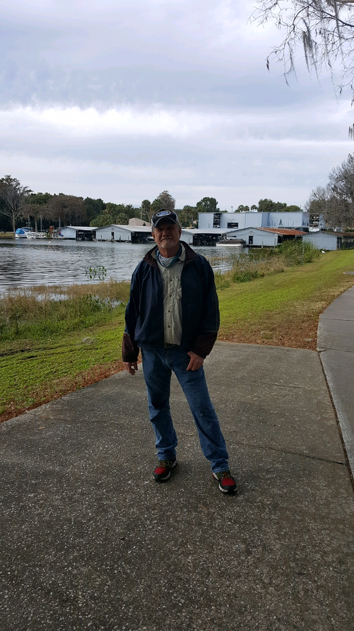 Don Carroll - 1st Place Angler and Big Fish Winner - Lake Dora - January 2021