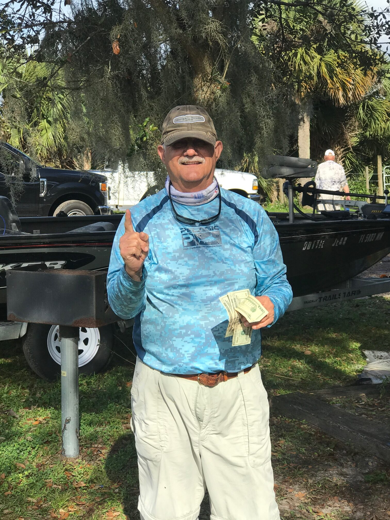 Mike Denny - 1st Place Co-Angler - Lake Kissimmee - February 2021
