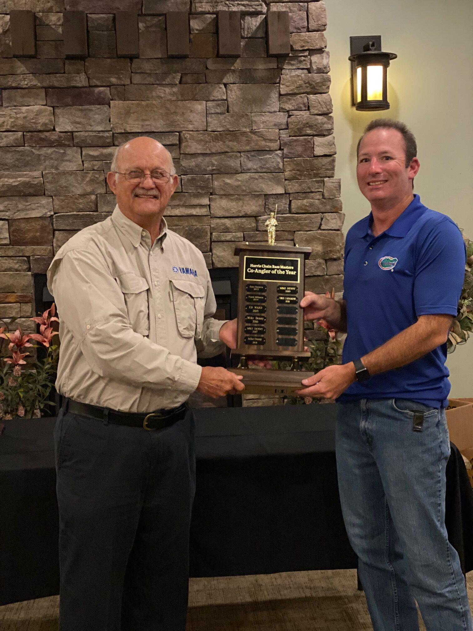 Chris Cardamone - 2020 Co-Angler of the Year