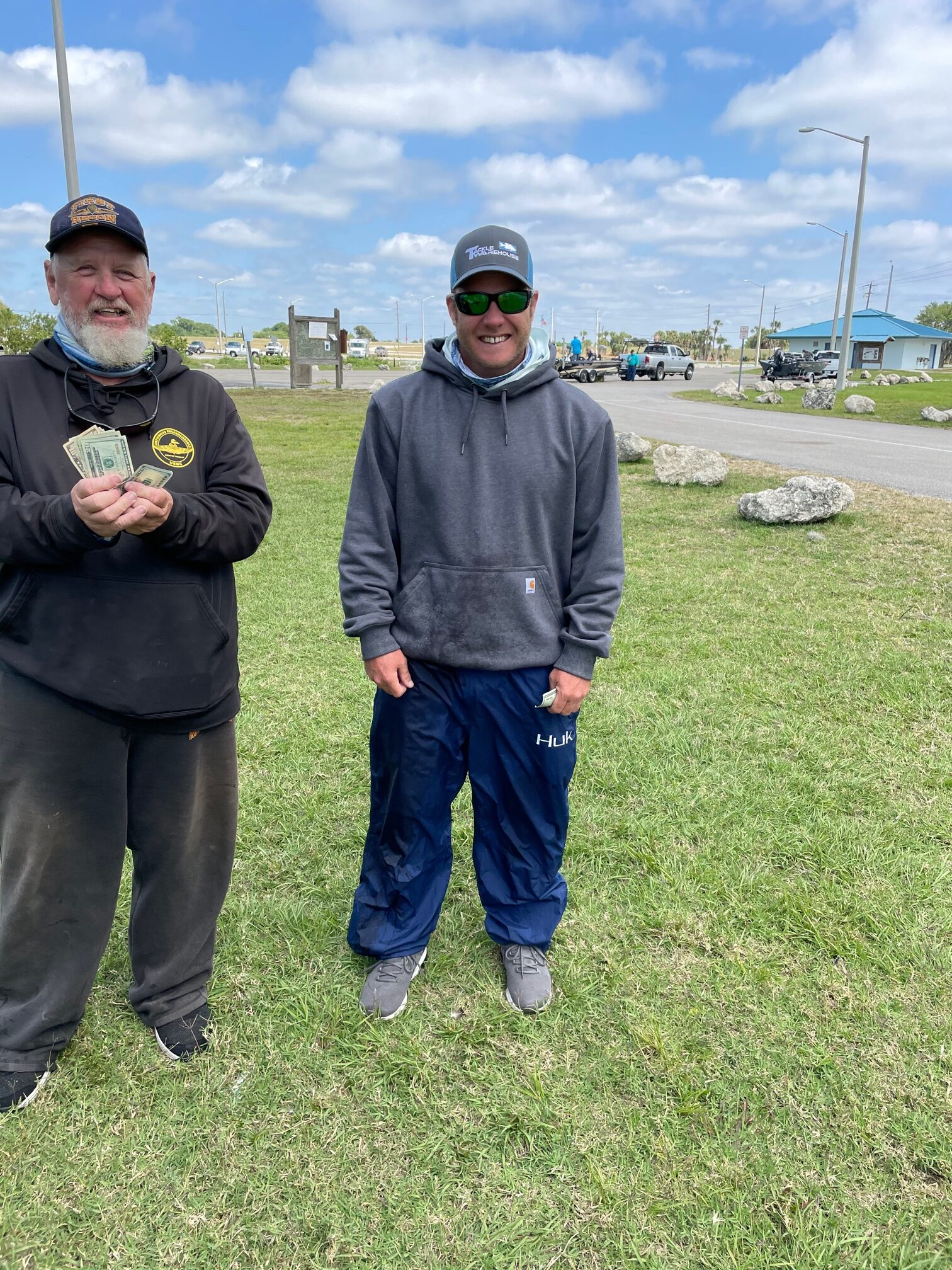 Don Streeter and Walter McClure - 1st and 2nd Place Angler - Lake Okeechobee - March 2021