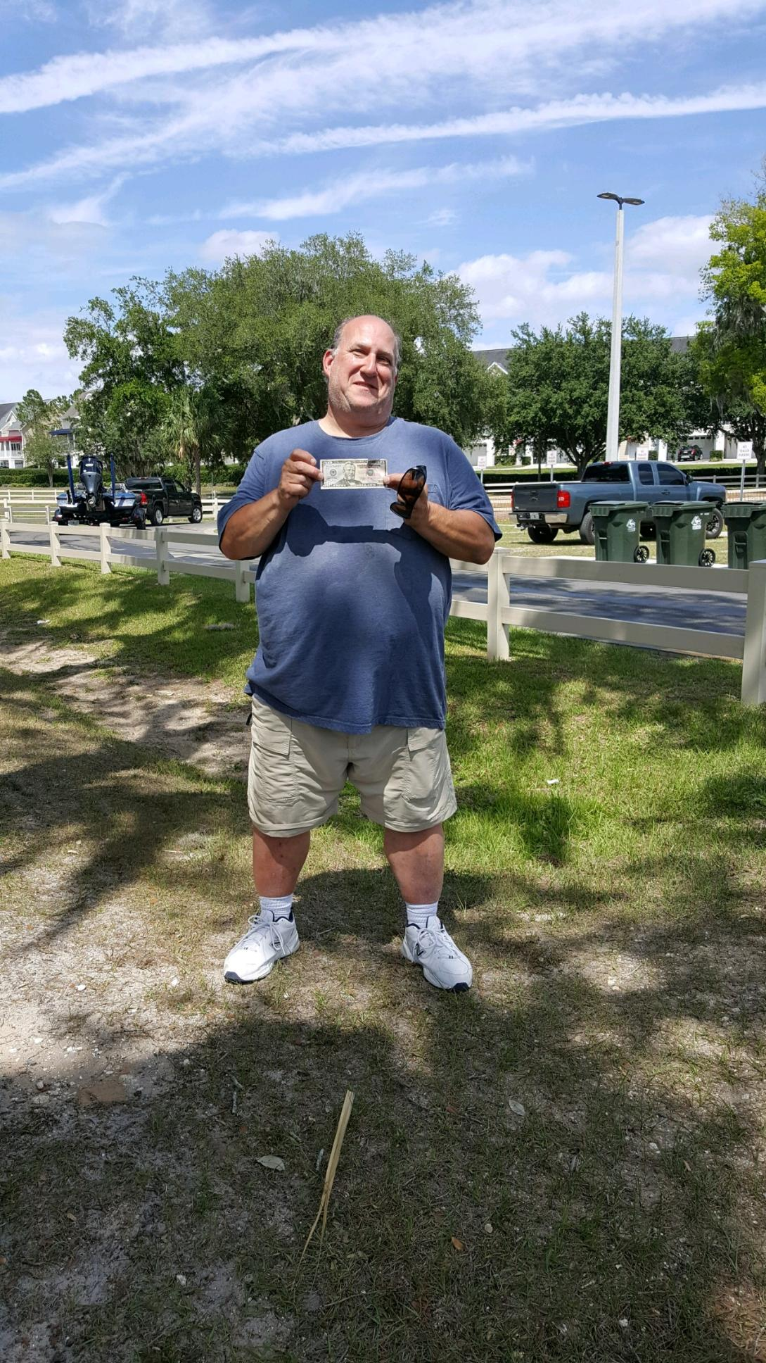 Richard Blake - 3rd Place Angler - Clermont Chain - May 2021