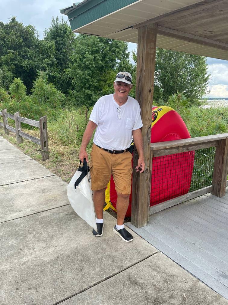 Ed Ward - 1st Place Angler - Lake Weir - September 2021