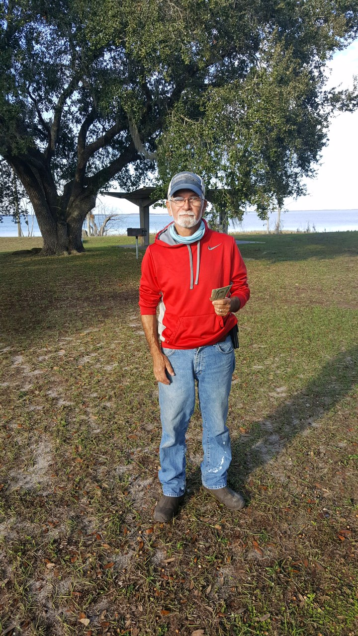 Jerry Uhrich - 2nd Place Co-Angler - Lake Griffin - October 2021