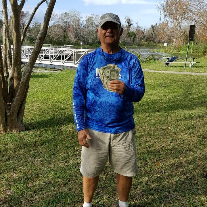 Mike Denny - 2nd Place Co-Angler - Lake Griffin - Jan 2020